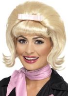 50's Flicked Beehive Wig - Blonde 43229)